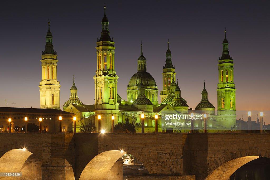 Spain, Aragon Region, Zaragoza Province, Zaragoza