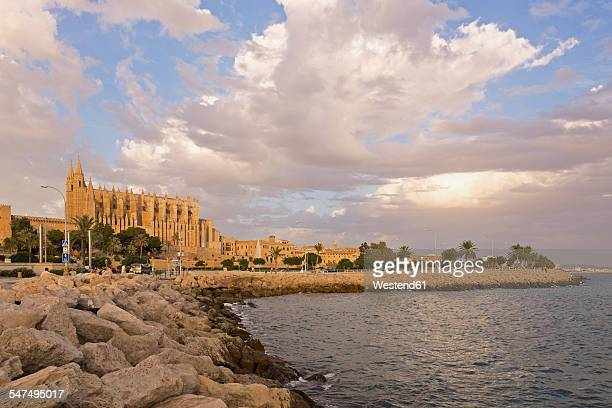 Spain, Balearic Islands, Majorca, Palma, Cathedral La Seu