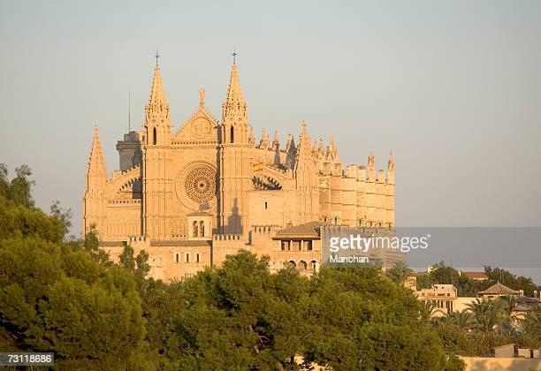 Spain, Balearic Islands, Majorca, Palma de Mallorca, Palma Cathedral