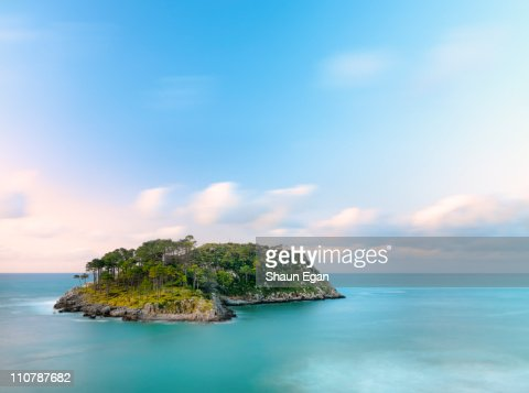 Spain, Basque, Lekeitio, San Nicolas island.