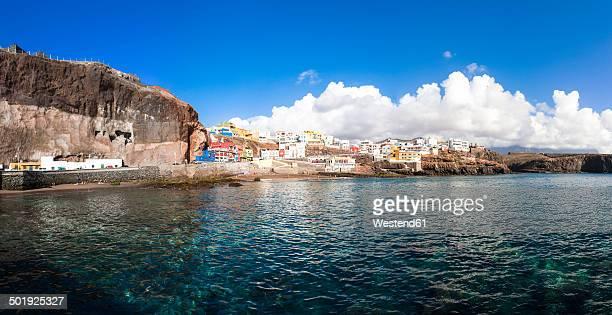 Spain, Canary Islands, Gran Canaria, Galdar, View to Sardina del Norte