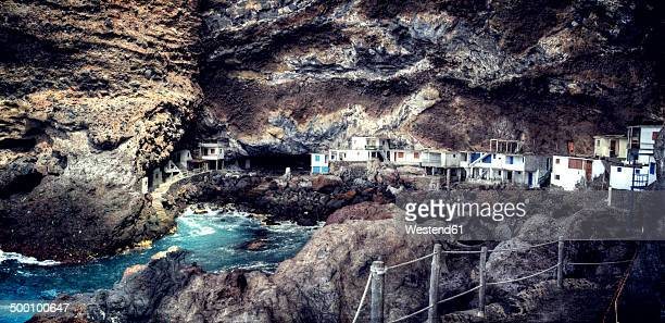 Spain, Canary Islands, La Palma, View of Poris de Candelaria