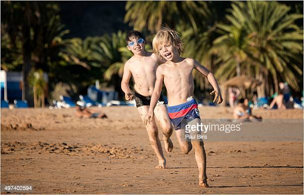 Spain, Canary Islands, Tenerife, San Andres, playa de las Teresitas