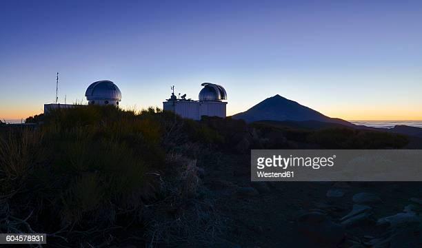 Spain, Canary Islands, Tenerife, Teide observatory