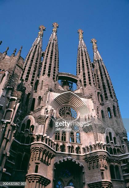 Spain, Catalonia, Barcelona, Cathedral La Sagrada Familia