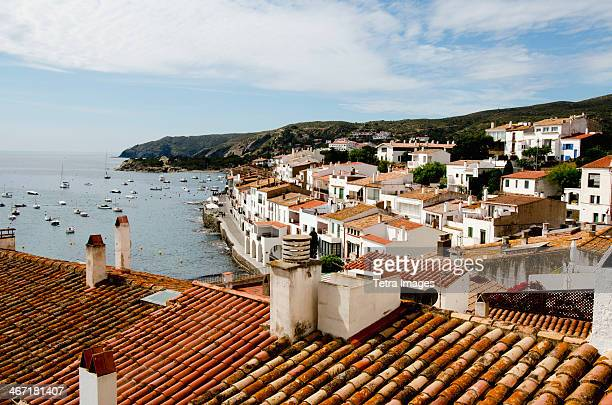 Spain, Catalonia, Girona Province, Costa Brava, View of Cadaques