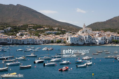 Spain, Catolonia, Costa Brava, Cadaques : Stock Photo
