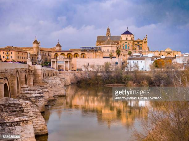 Spain, Cordoba, Cathedral and Roman Bridge