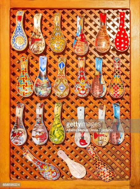 Spain, Cordoba, Decorative Spoons