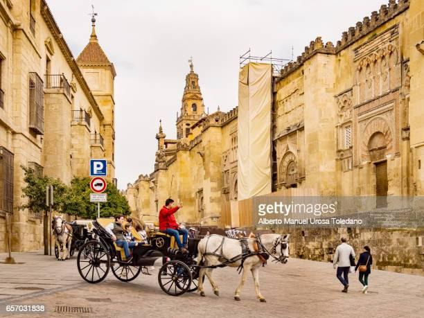Spain, Cordoba, Mosque-Cathedral of Cordoba, Facade