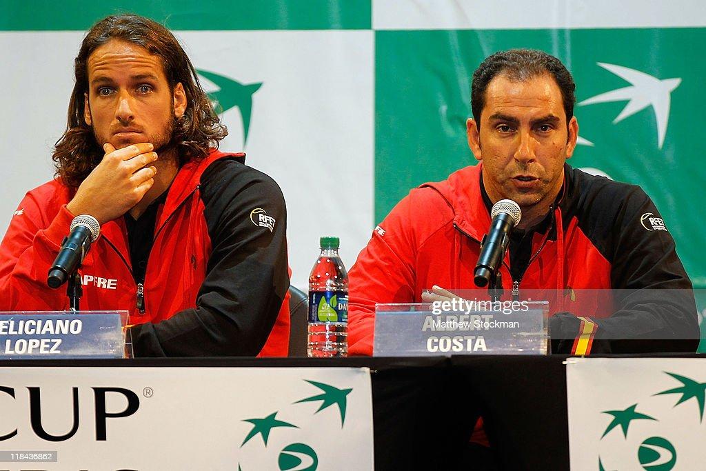 Davis Cup Draw: Spain v USA