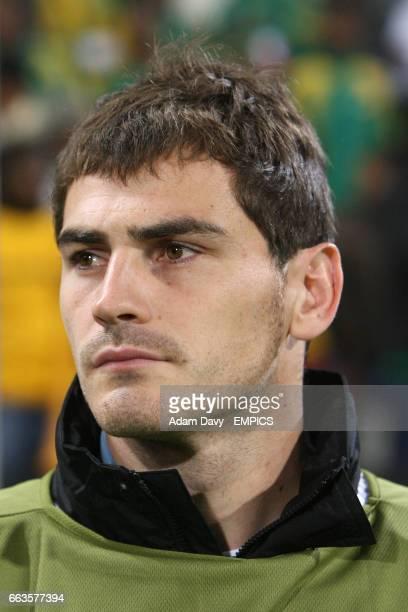 Spain goalkeeper Iker Casillas