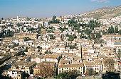 Spain, Granada, aerial view