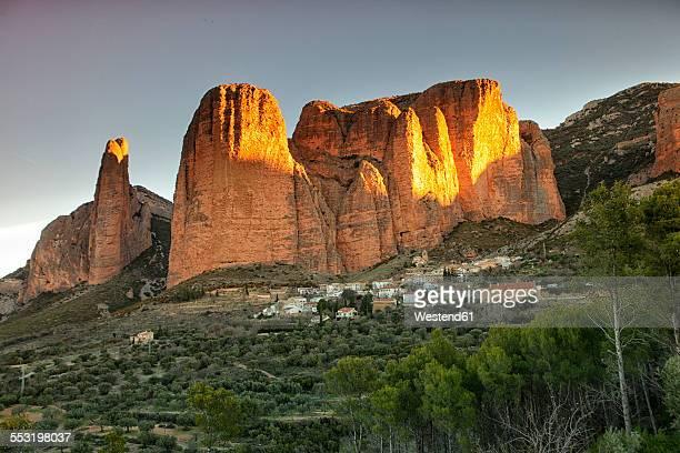 Spain, Huesca, Mallos de Riglos