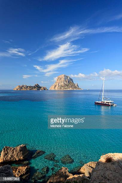 Spain, Ibiza, Cala D'Hort Beach