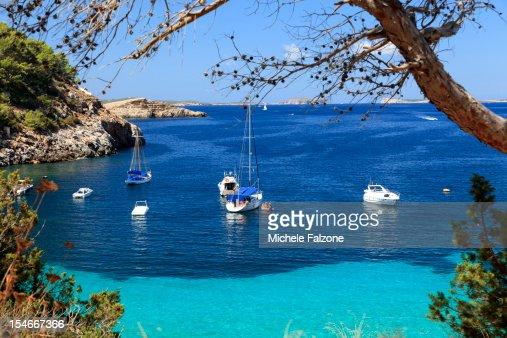 Spain, Ibiza, Cala Salada Beach