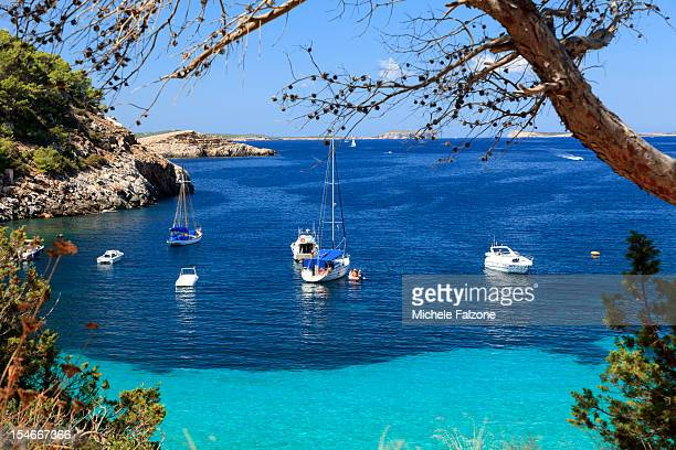 Spain, Ibiza, Cala Salada Beach