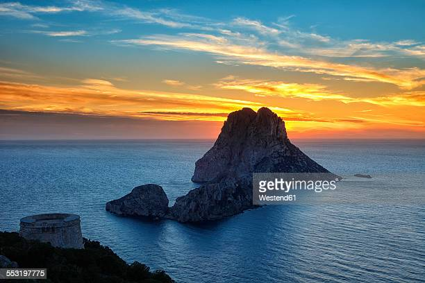 Spain, Ibiza, Es Vedra Island