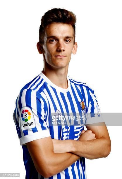 Spain La Liga Santander 20172018 / 'n 'nDiego Javier Llorente Rios ' Diego Llorente '