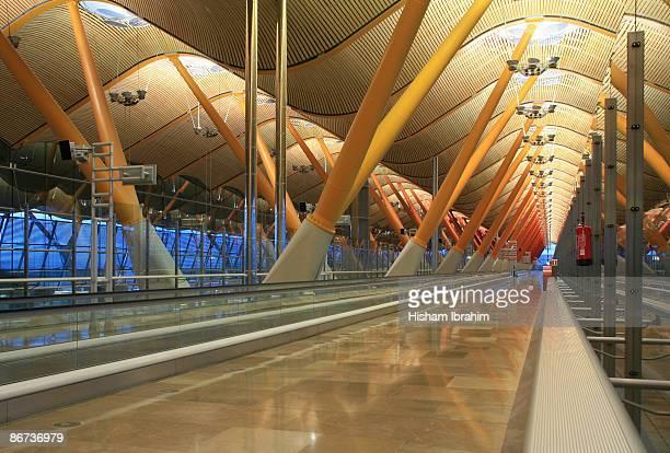 Spain, Madrid, Barajas International Airport