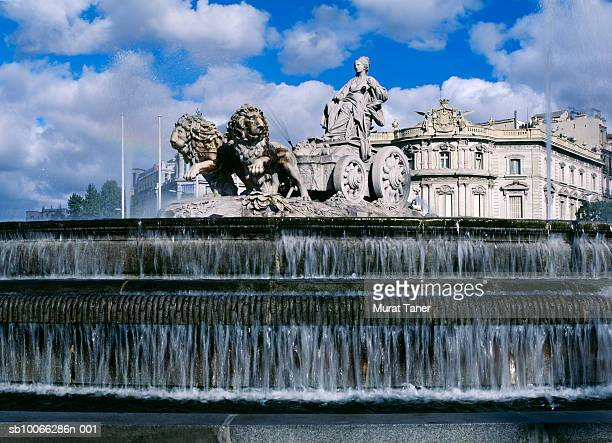 Spain, Madrid, Cibeles Fountain