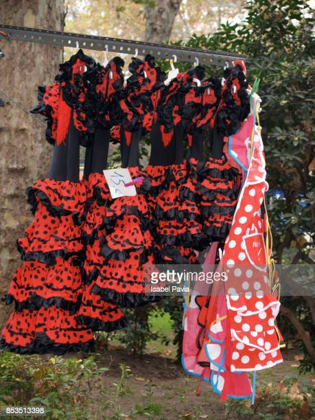 Spain, Madrid, Flamenco dress shop