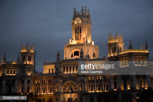 Spain, Madrid, Palacio de Comunicaciones