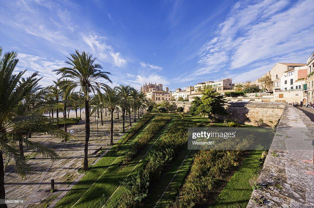 Spain, Majorca, Palma, Cityscape