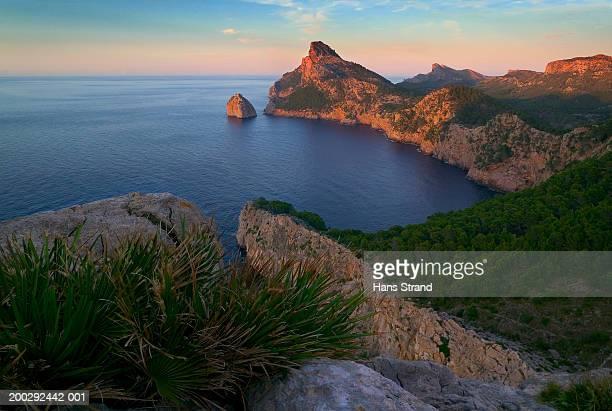 Spain, Mallorca, Formentor Peninsula, sunset