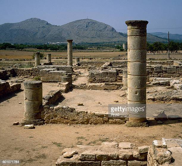 Spain Mallorca Pollentia Roman ruins