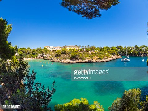 Spain, Mallorca, View to Cala Ferrera