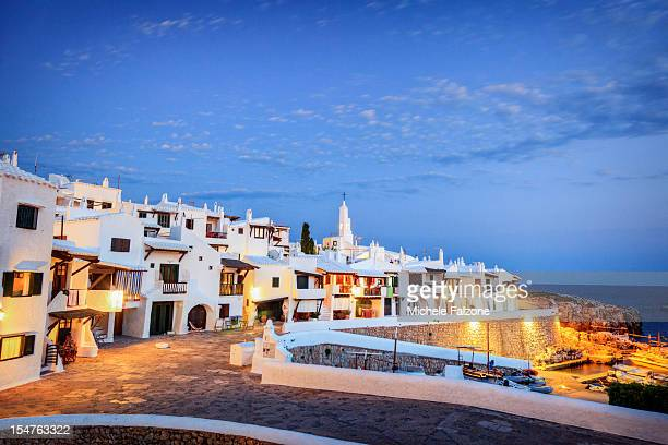 Spain, Menorca, Fishing Village of Binibequer Vell