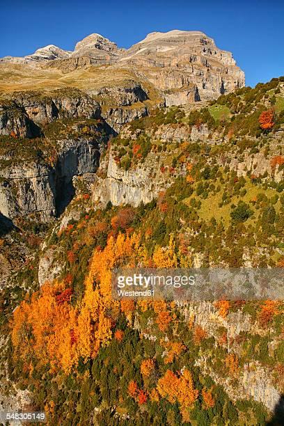 Spain, Ordesa National Park, Monte Perdido massif