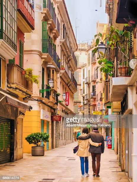 Spain, Palma de Mallorca, St Miquel street