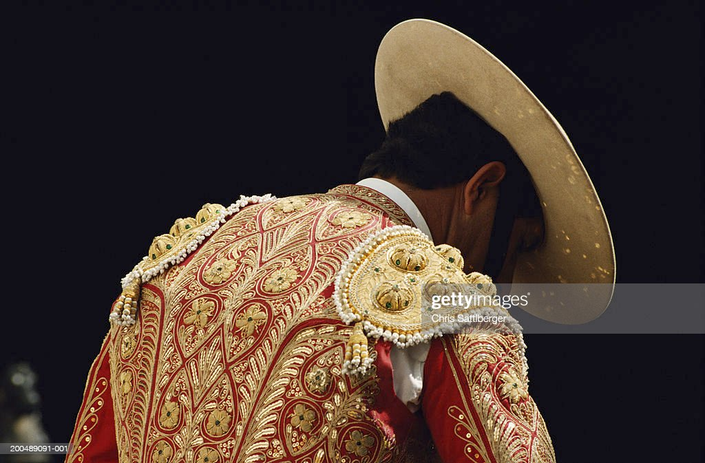Spain, Seville, Picadores before bullfight : Stock Photo