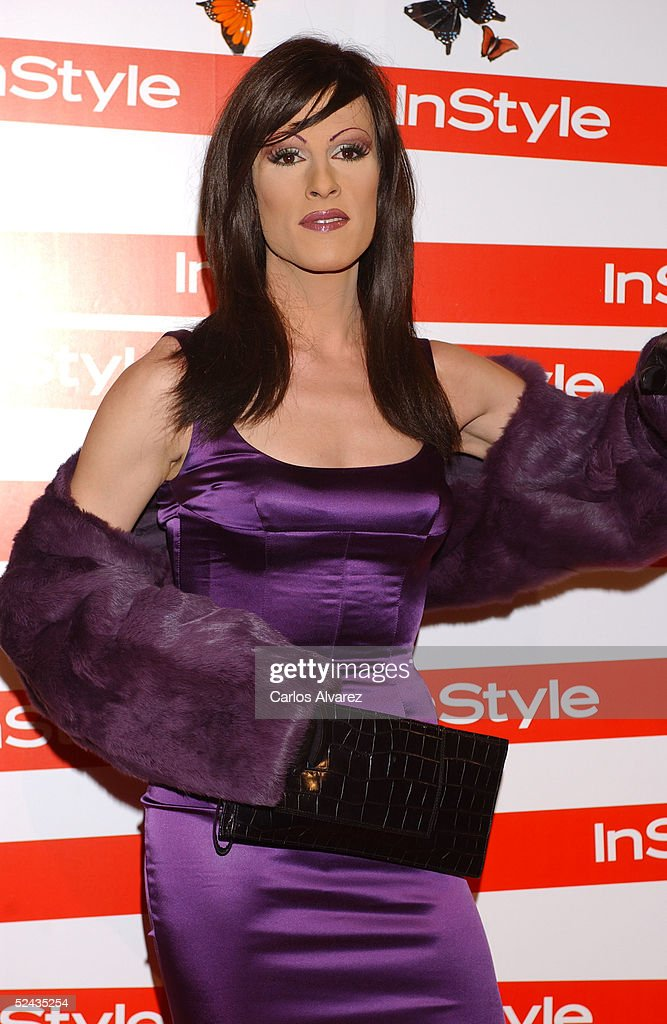 Spain VJ Deborah Ombres attends the In Style Gala Dinner at La Riviera Club on March 16, 2005 in Madrid, Spain.