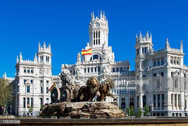 Spain,Madrid, Plaza de Cibeles