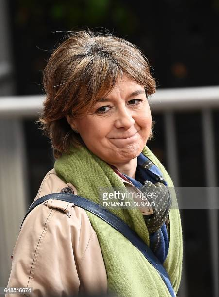 Spain's Agriculture Minister Isabel Garcia Tejerina arrives to attend an agriculture and fisheries council at the European Council in Brussels March...