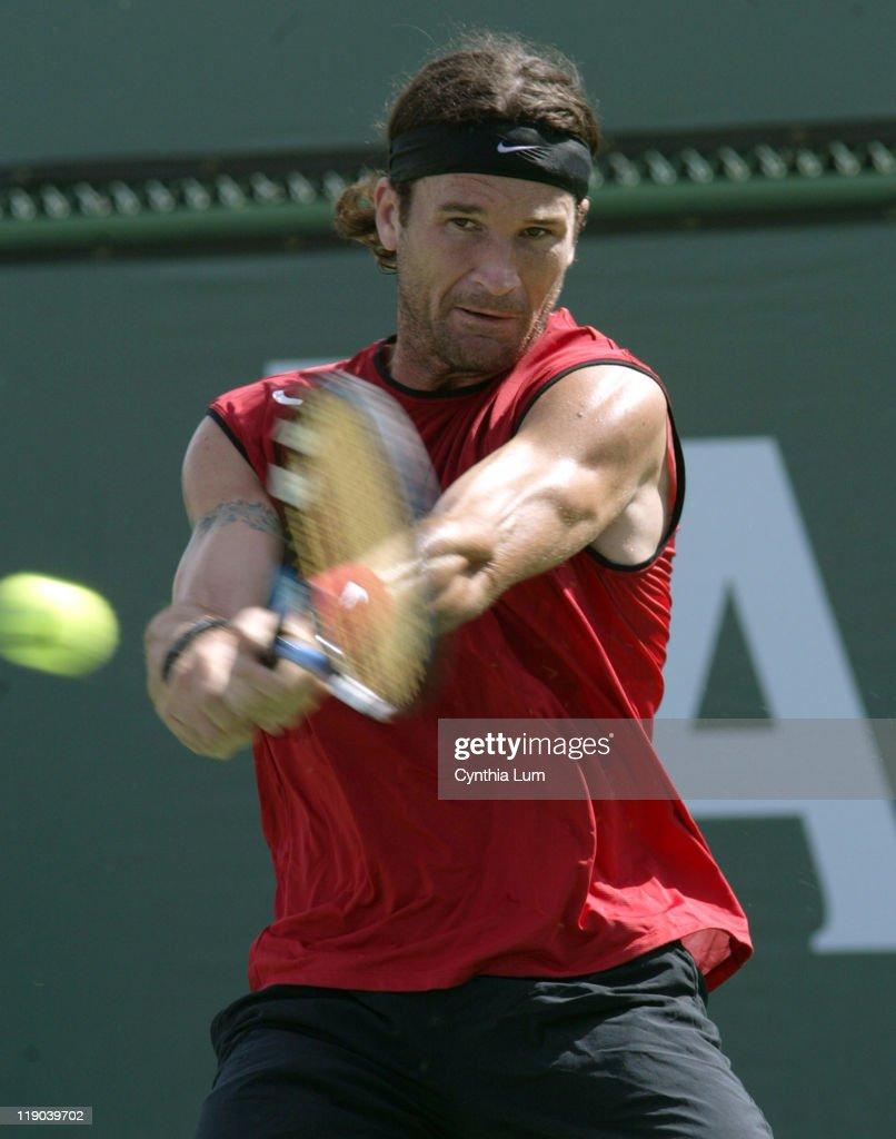 2005 Pacific Life Open - Men's Singles - Carlos Moya vs Fabrice Santory