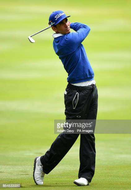 Spain's Rafa CabreraBello during day two of the BMW PGA Championship at the Wentworth Club Surrey