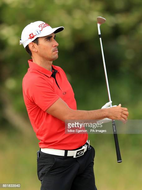 Spain's Rafael CabreraBello during day one of the 2013 Open Championship at Muirfield Golf Club East Lothian