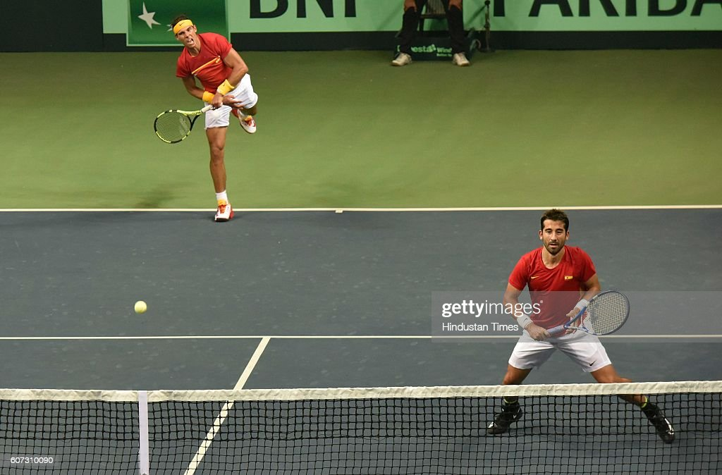 Davis Cup World Group Play-Off Match : Photo d'actualité