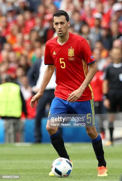 Spain's Sergio Busquets