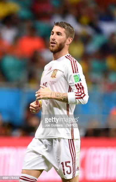 Spain's Sergio Ramos