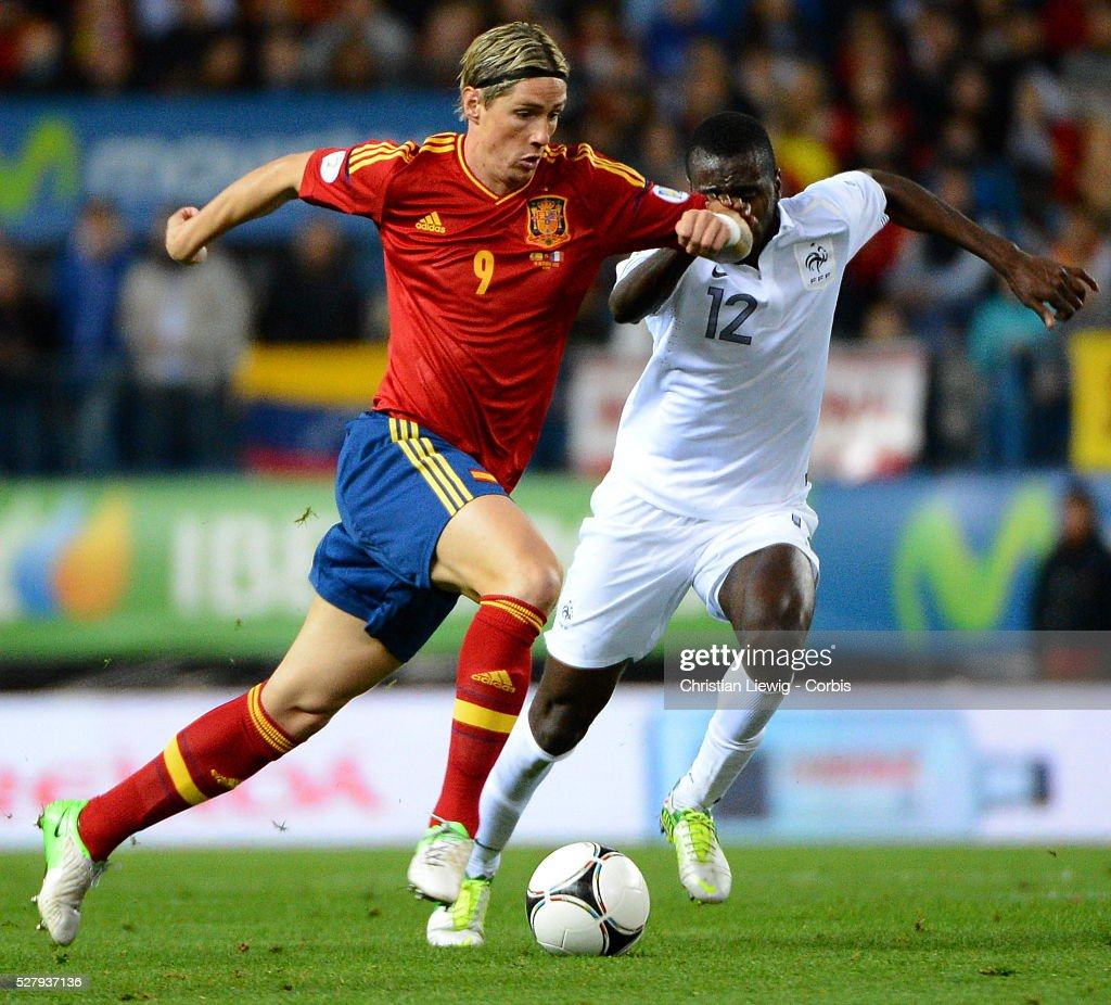 Spain,s Torres during the World Cup 2014 qualifying soccer ...