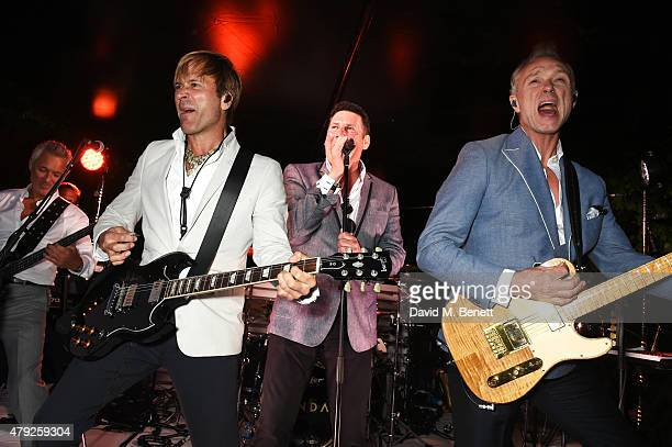 Spandau Ballet perform at The Serpentine Gallery summer party at The Serpentine Gallery on July 2 2015 in London England