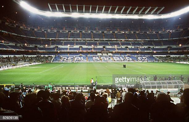 Spanische Liga 97/98 Madrid Real Madrid FC Barcelona Stadion Santiago Bernabeu