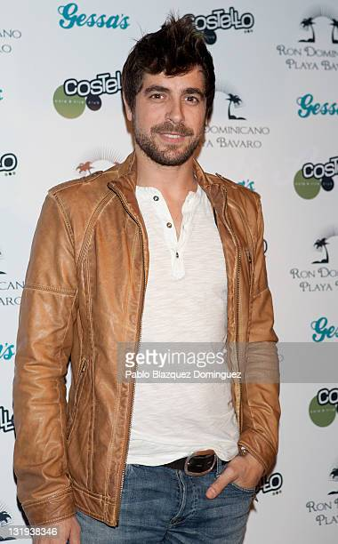 Spanish actor Agustin Galiana attends 'Gessas en Corto' photocall at Costello Club on November 8 2011 in Madrid Spain