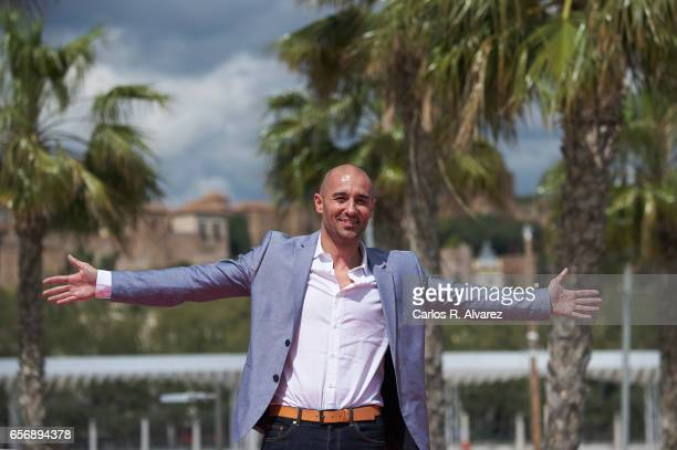 Spanish actor Alain Hernandez attends the 'Plan de Fuga' photocall on day 7 of the 20th Malaga Film Festival on March 23 2017 in Malaga Spain