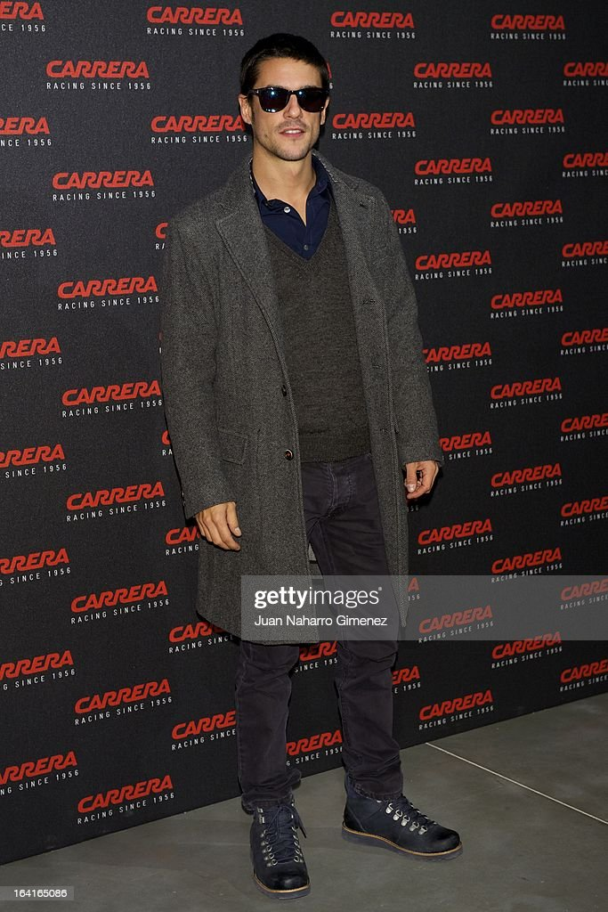 Spanish actor Alejo Sauras attends 'Carrera Ignition Night' party at Matadero on March 20, 2013 in Madrid, Spain.